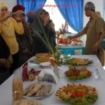 Kunjungan Bupati beserta ibu didampingi oleh dinas terkait ke Sentra tuna DEWA RUCI